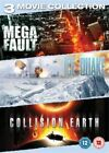 Disaster Triple - Megafault / Ice Quake / Collision Earth (DVD, 2013, 3-Disc Set)