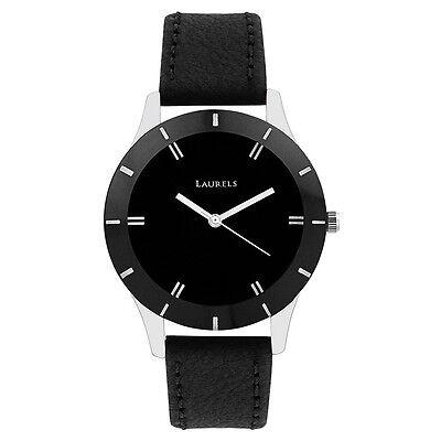 Laurels Colors Analog Black Dial Women's Watch - Lo-Colors-1001