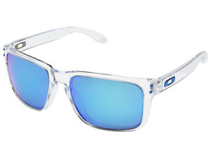 01aec011c9 Image is loading Oakley-Holbrook-XL-Polarized-Sunglasses-OO9417-0759-Clear-