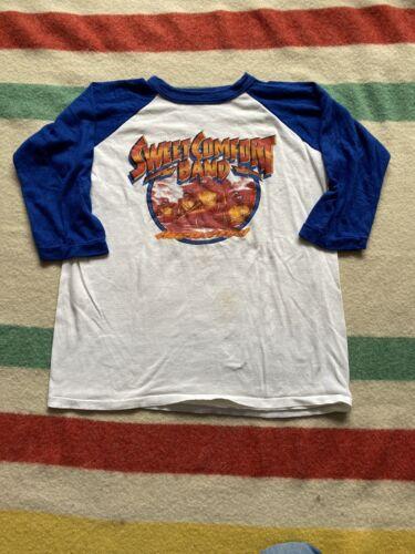 Vintage 80s Sweet Comfort Band Raglan Band Shirt