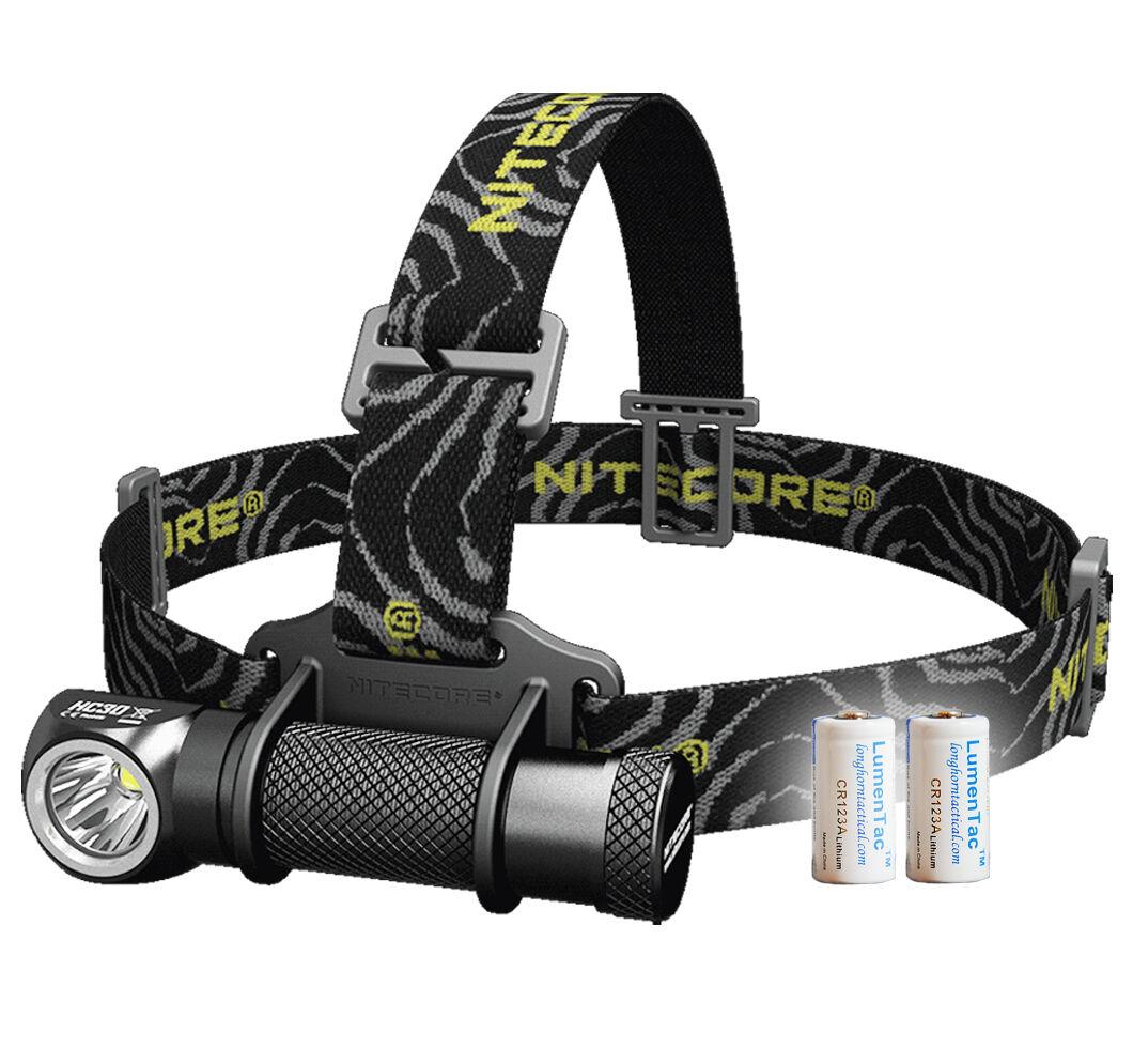 Nitecore HC30 1000 Lumens Compact  LED Headlamp - Free 2x CR123A Batt, HC50 HC90  choose your favorite