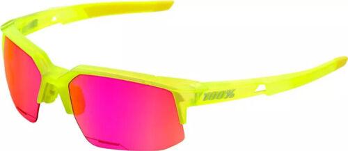 100/% Speedcoupe Sunglasses Acidulous Yellow//Purple Multilayer Mirror Lens