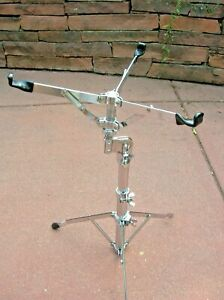 Vintage-Ludwig-Atlas-Snare-Drum-Stand-Excellent-Chrome-1969