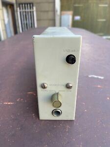 V737 c  Mic pre amplifier RFZ VEB RFT East German Neumann Gefell