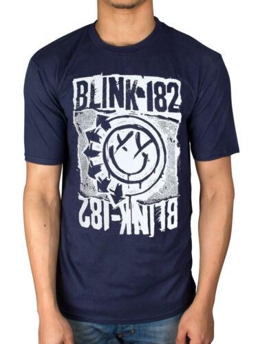 Official Mens Blink 182 Eu Deck T-Shirt Dude Ranch Enema of the State Short Bus