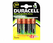 10 DURACELL AA RECHARGEABLE BATTERIES 2450 mAh 2450mAh 1.2V NiMH NEW SEALED PACK