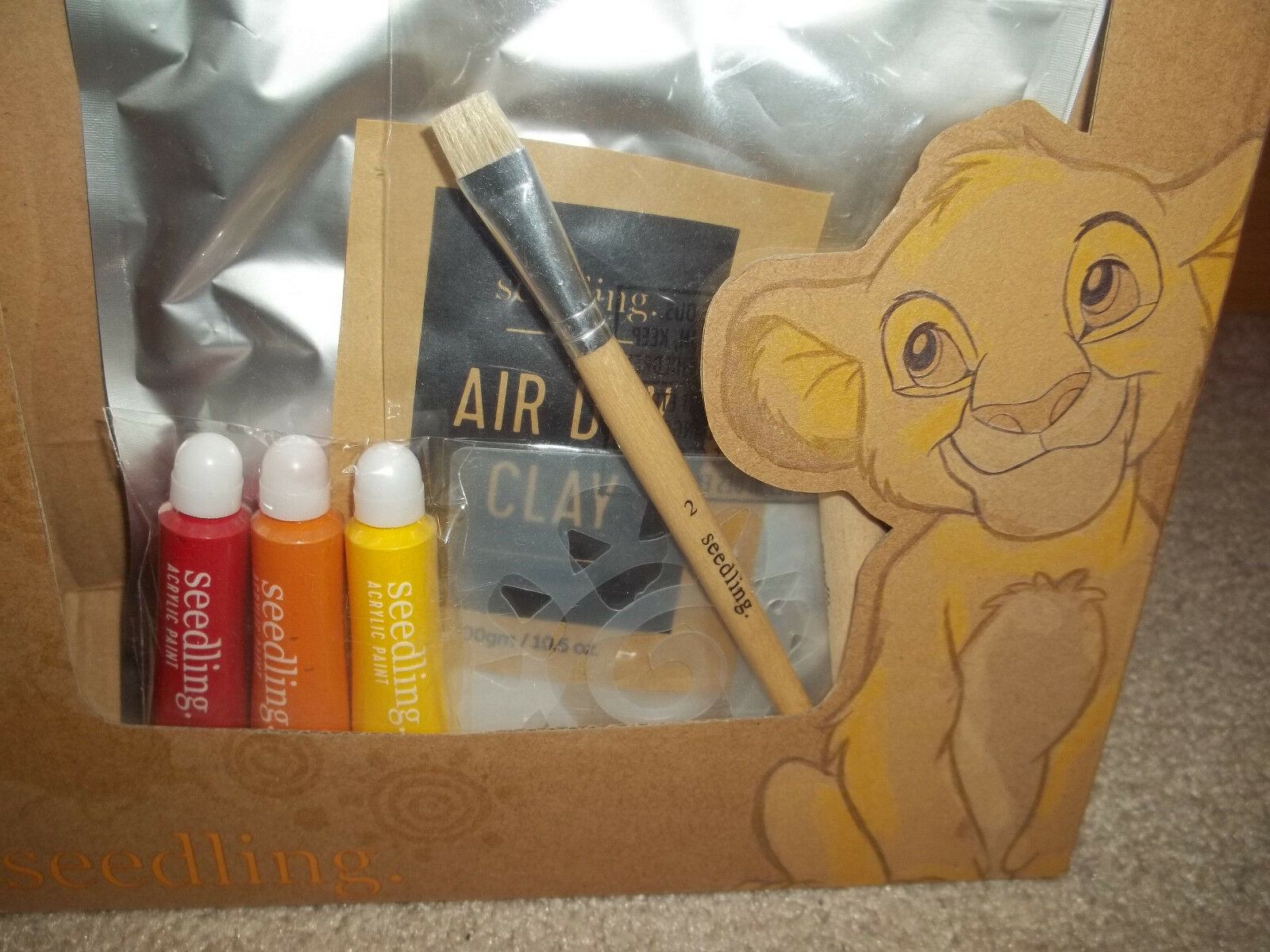 New Seedling Disney's The Lion King Create Your Own Cave Art Paint Kit  16DCYCA