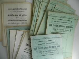 Notiziario Trimestrale Societè Foresta Lorraine Delle Amis Alberi 1925-1935