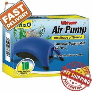 Whisper-Air-Pump-Tetra-Water-Fish-Tank-Aquarium-10-40-60-100-Gallons-Filter