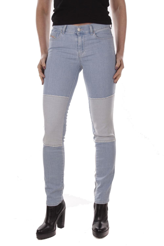 Diesel Sandy 0852y Stretch Pantalones Vaqueros de women Delgado y Recto