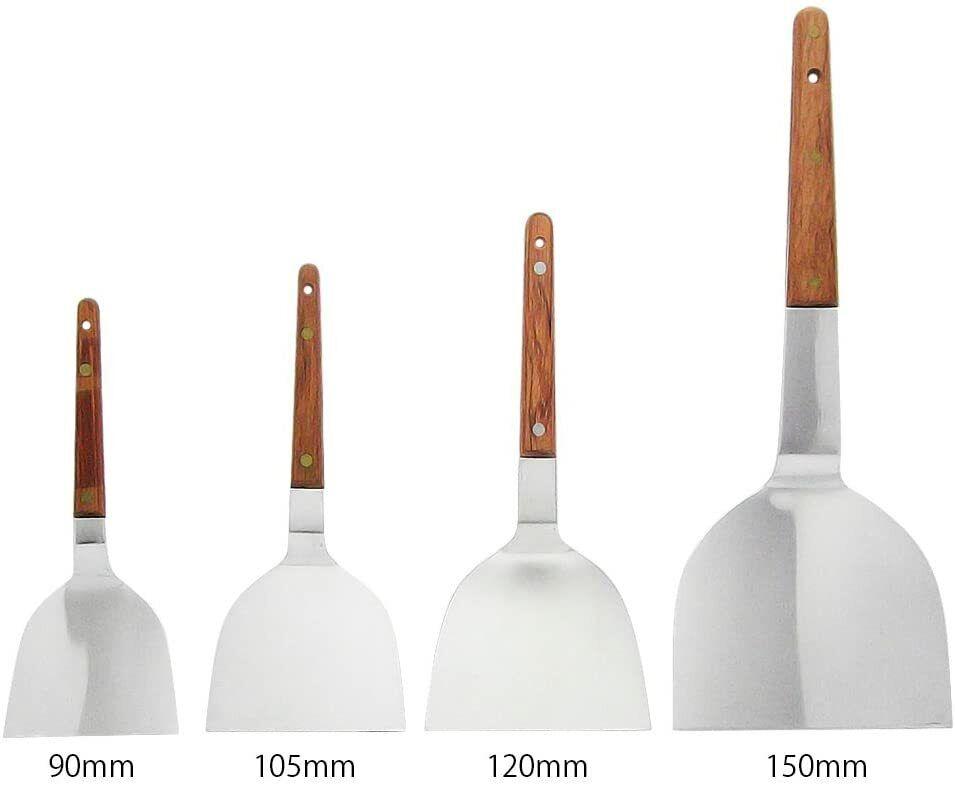Japanese Teppanyaki Spatula Pair