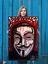 NEO-Street-Art-Graffiti-Print-Urban-Anonymous-Poster-Wall-V-Vendetta-Dada-Red thumbnail 1