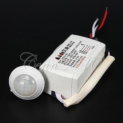 200W IR Modul Sensor Bewegungsmelder Lichtschalter Schalter Infrarot Sensing Neu