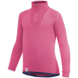 Woolpower-200-Zip-Turtle-Neck-Kinder-sea-star-rose-2019-Midlayer-pink