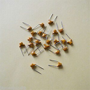 100/1000pc Monolithic Multilayer Ceramic Capacitors - Choose PF,NF,UF / P=5.08mm