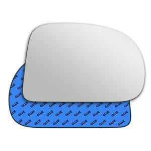 Right Side Clip On Heated Mirror Glass for Hyundai Amica 1997-2008 0165RASHE9