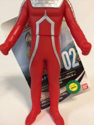 Bandai Ultraman Ultra Hero Series 02 Ultra Seven Pvc Figure Statue Sofvi New