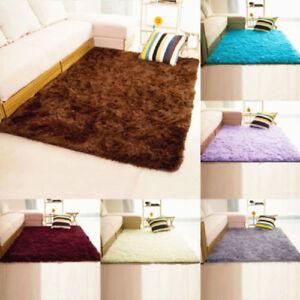 Fluffy Teppiche Anti-Skid Shaggy Bereich Home Schlafzimmer Teppich ...