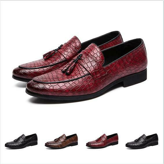 2019 shoes Round Toe Flat Fashion Moccasin Slip On Loafer Tassel Hairstylist New