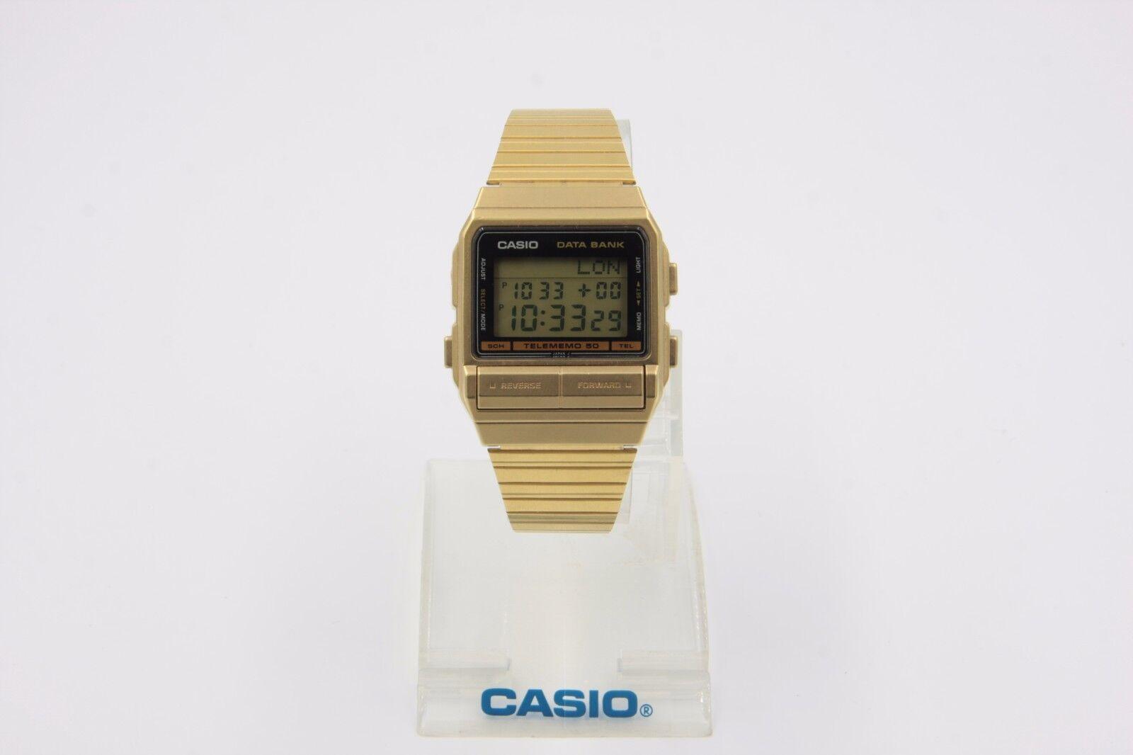 98675e5f7ae Casio DB-520GA Original Vintage Rare Databank Watch Telememo 50 DB ...