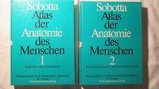 Atlas der Anatomie des Menschen, 2 Bände Sobotta ,1982