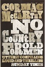 No Country For Old Men by Cormac McCarthy - New Paperback Book