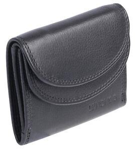 Groessere-Miniboerse-Damen-Herren-Kleingeldboerse-Geldboerse-Portemonnaie-Leder