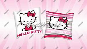 Hello-Kitty-Kissen-40x40-cm-aus-Baumwolle-Stripe