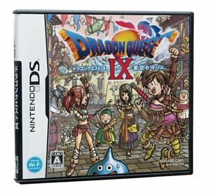 Dragon Quest 9 IX Nintendo DS Japanese Import RPG DQ IX 9