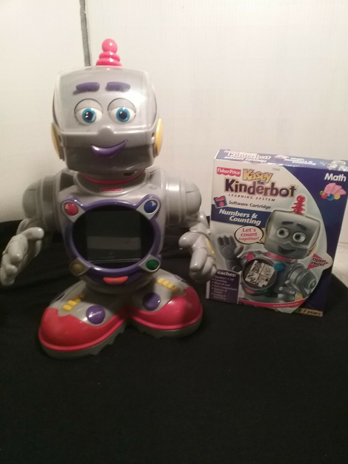 Mattel Fisher Price  Kasey The Kinderbot  Interactive Robot Learning Toy