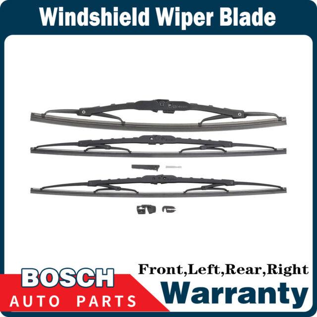 Bosch 3 PCS Front & Rear Windshield Wiper Blade For 1997