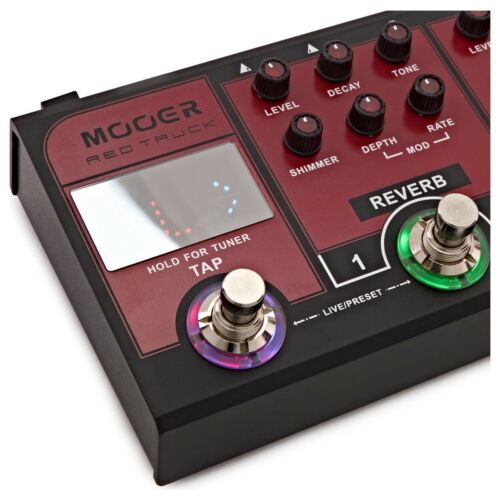 Mooer Red Truck Electric Guitar Multi Effects Pedal MREDTRUCK