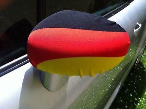 2-Spiegelkappen-Auto-Fussball-Flagge-Fahne-Deutschland-Aussenspiegel-Wimpel-WM-EM