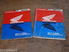 MANUEL REVUE TECHNIQUE D ATELIER HONDA ST 1100 PAN-EUROPEAN 1990-1991 ST1100