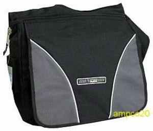 Messenger Sling Body Bag Backpack Book Binder Large Bag Black ...