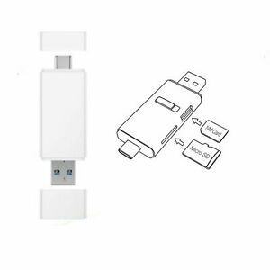 Details about USB 3 1 High-Speed Micro SD & NM Nano Memory Card Reader For  Huawei Mobile Phone