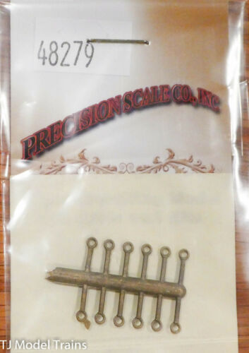 """for .040/"""" Wire Brass Precision Scale O #48279 Lift Rings"""