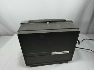 Vintage Bell & Howell 356A Auto Load Super 8mm Film Movie Projector Works