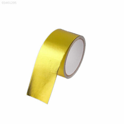 9A04 Reflect Gold Tape 5M Weaved Gold Tape 2000°F Auto Reflect Gold Tape
