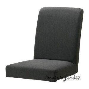 IKEA-HENRIKSDAL-Chair-Cover-Dansbo-Dark-Gray-Henriksdal-Slipcover-502-526-08-NEW