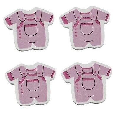 Baby Shower Babyparty Geburt Taufe Mädchen Girl Rosa Pink Glückwunschkarte Holz