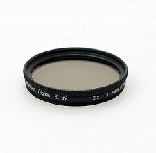 Heliopan 39mm Neutral Density ND0.3 Filter. Brand New Stock