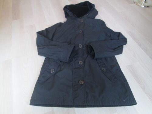 Coat Boden Lined Fur 8 Ladies Black Hoody Size xxvgfn