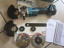"New Makita XAG06Z 18V 4-1/2"" LXT Brushless Angle Grinder Tool-3yr WARRANTY@&"