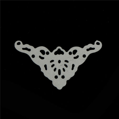 Lace corner Metal Cutting Dies Stencil For DIY Scrapbooking Album Cards Decor VG