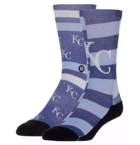 STANCE Men/'s Kansas City Royals Splatter Crew Blue MLB Socks M ⚾️ $18 KC 6-8.5