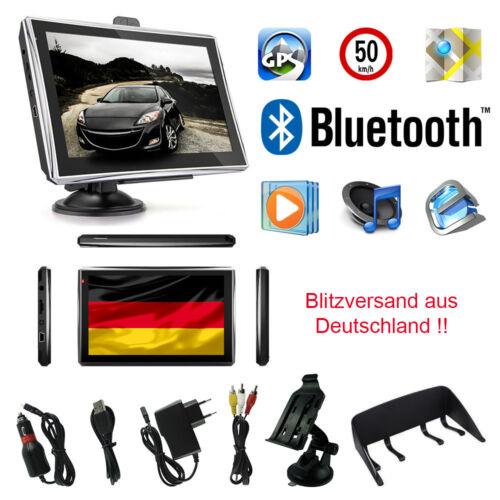 7 in Camion Appareil De Navigation avec écran capacitif voiture bus Bluetooth Flash
