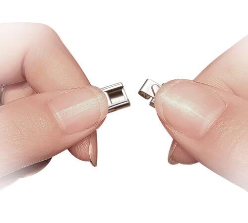 HYPOGLYCEMIC MEDICAL ID 9mm Italian Charm SILVER TONE MATTE Starter Bracelet