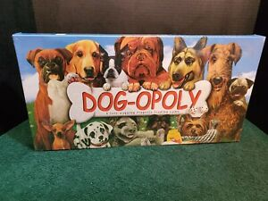 Dog-Opoly Board Game Tokens Cards Dice Instructions New In Box