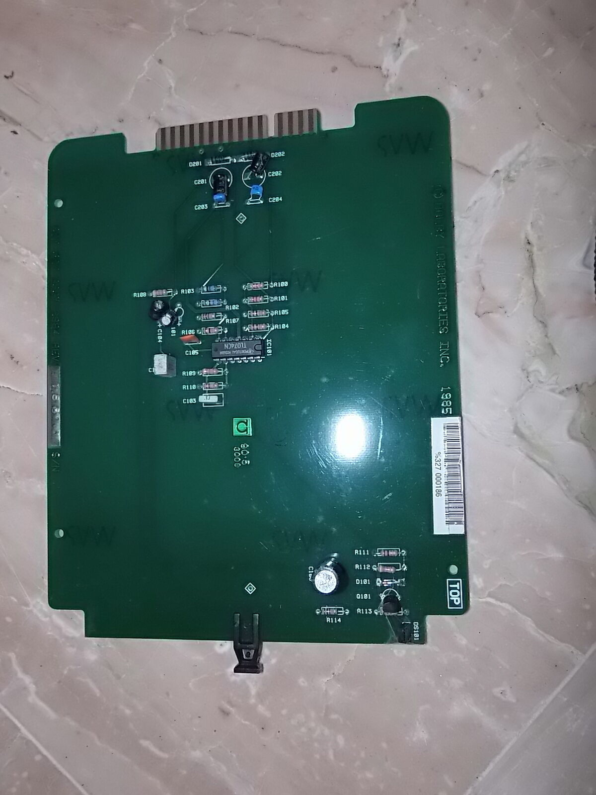 1 CARD AUDIO DOLBY CAT 327